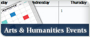 Arts & Humanities News and Events