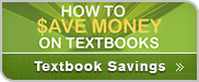 Textbook Savings