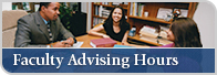 Faculty Advising Hours