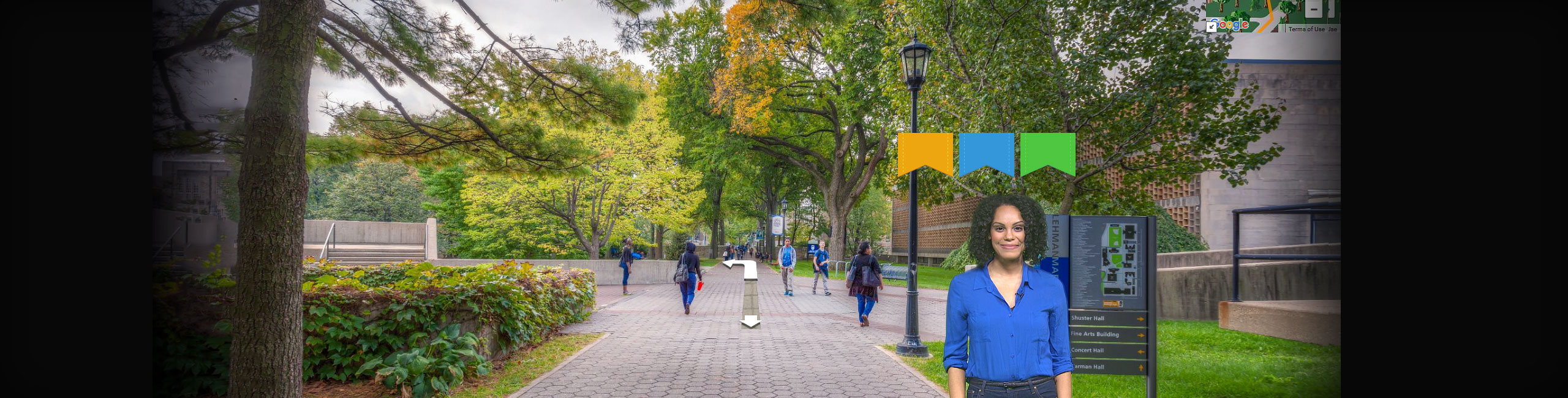 Take a Virtual Tour of the Lehman College Campus