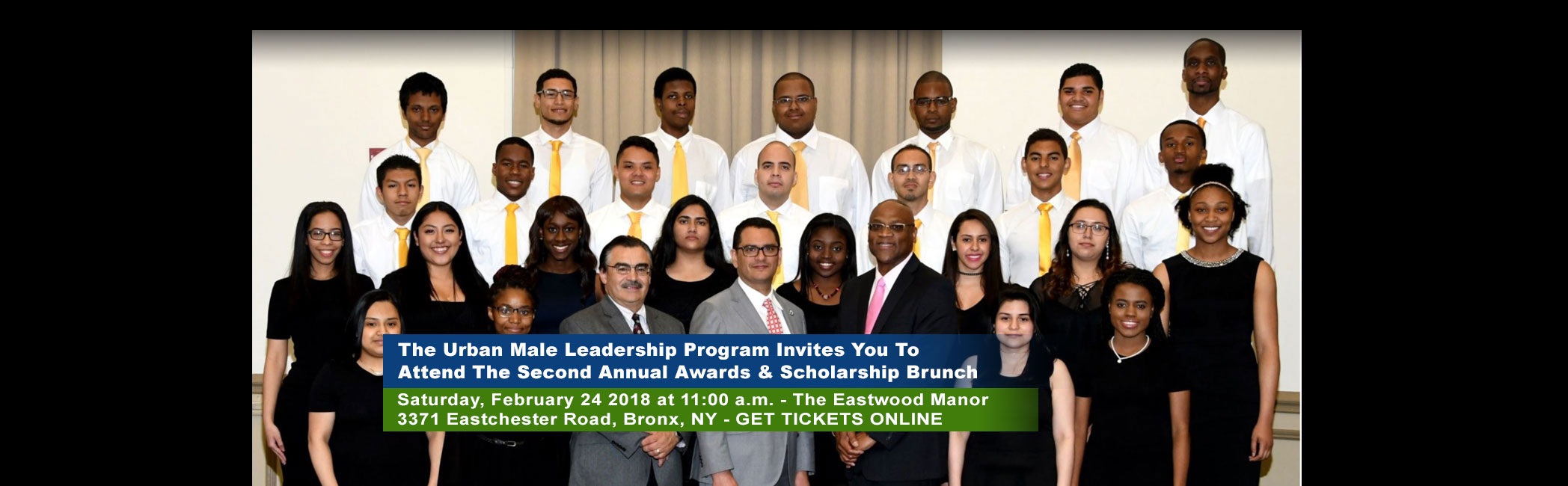 Urban Male Leadership Program Scholarship Fundraiser