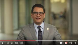 President Jose Luis Cruz Narrating Lehman's 30 Second Commercial