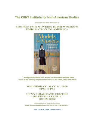 Irish American Book Club - Moderated by Professor Janet Butler-Munch