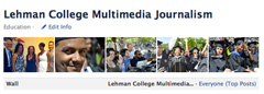 Lehman Multimedia Journalism Facebook