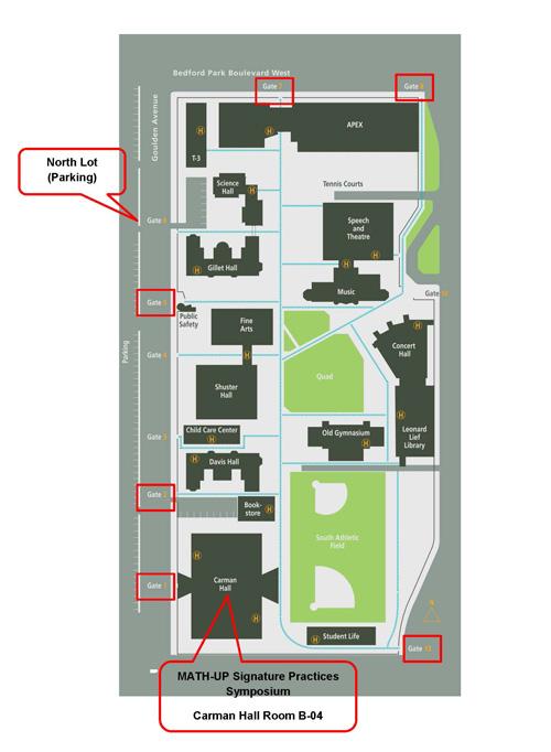 Lehman College Map School of Education   Lehman College