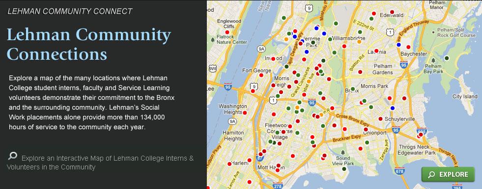 Lehman Community Connect - Bronx Information Portal