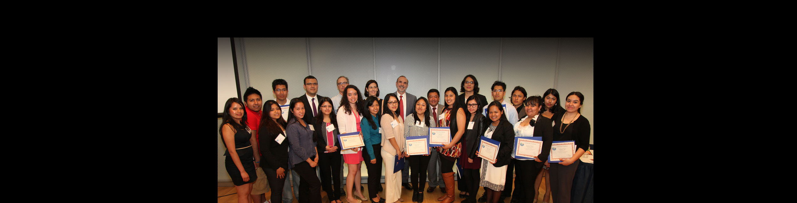 2013 CUNY-IME Becas Scholarship winners