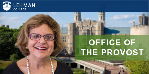 Message from the Office of the Provost