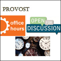 Provost Office Hours
