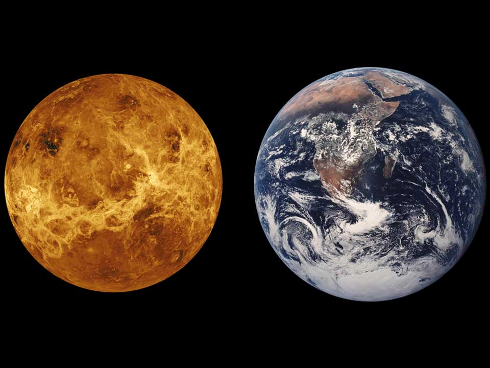Astrophysicist Offers Solar System View of Climate Change on Earth