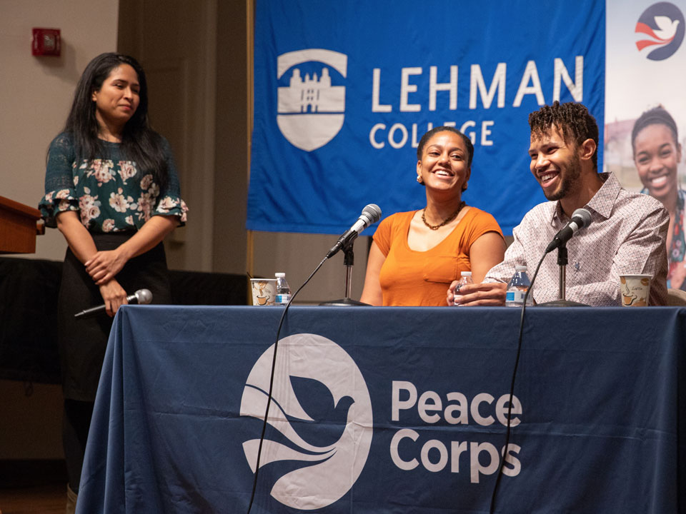 Lehman College Joins Peace Corps Prep Program