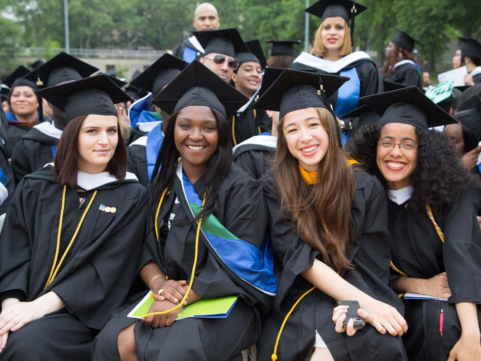Photo of Lehman College Graduates