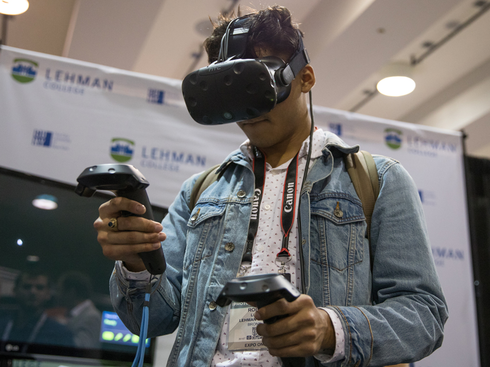 With its Bronx Tech Incubator, which houses an augmented and virtual reality lab, Lehman was uniquely positioned to develop the emerging technology mentorship program.