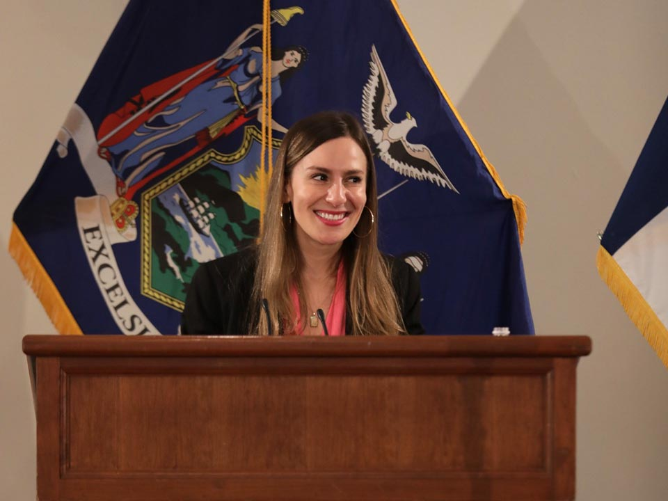 NY State Senator Alessandra Biaggi Delivers the 50th Herbert Lehman Memorial Lecture