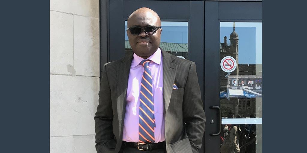 Lehman Alumnus Francis Ashun