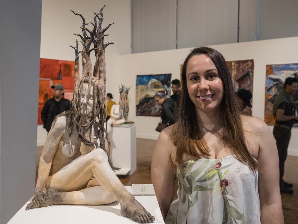 Lehman Graduate's First Solo Art Exhibition Presented at the National Arts Club
