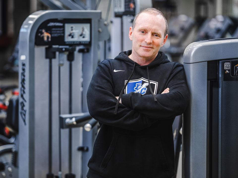 Photo of Lehman College Professor Brad Schoenfeld
