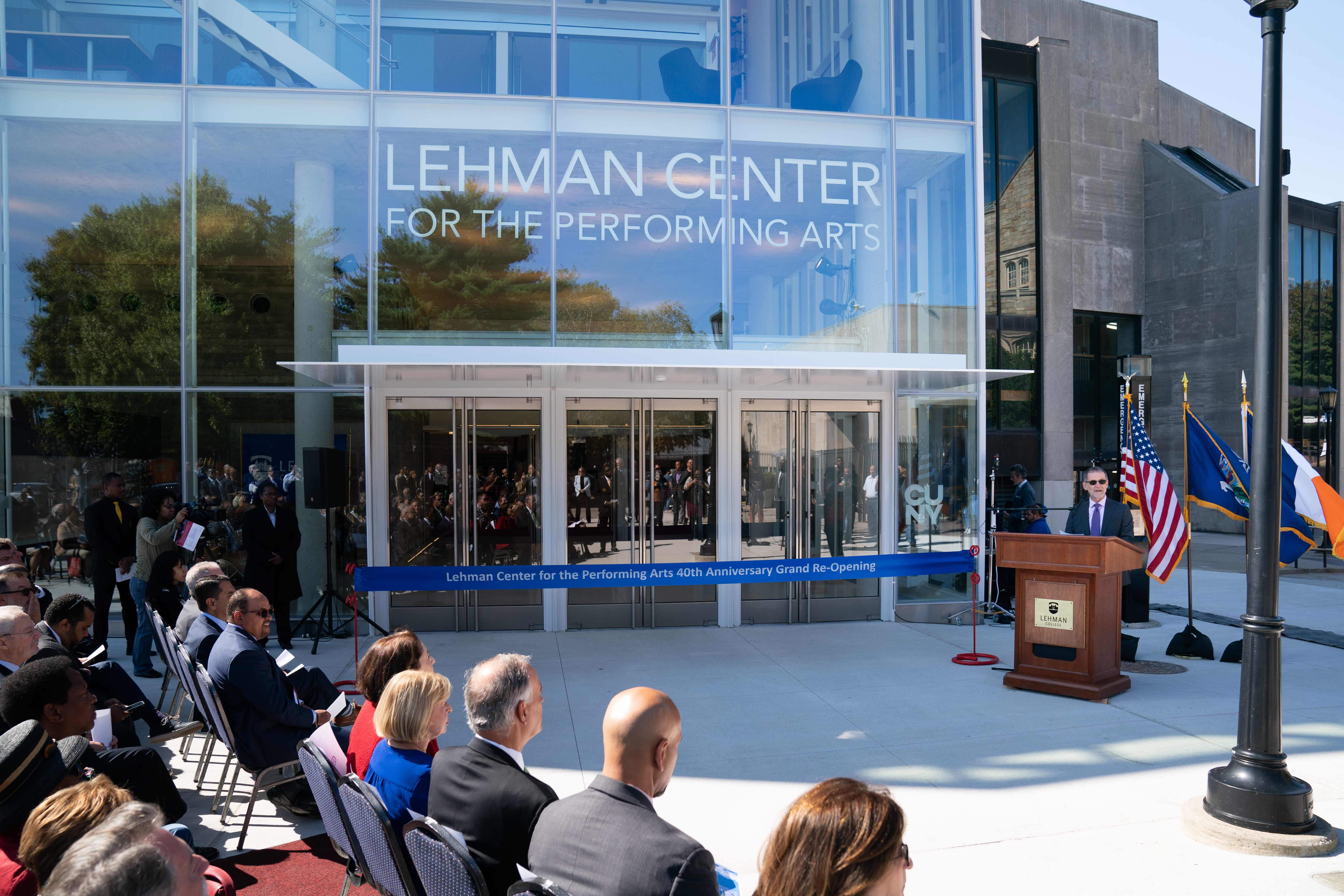 Lehman Center for the Performing Arts Marks 40th Season with $15.4 Million Renovation