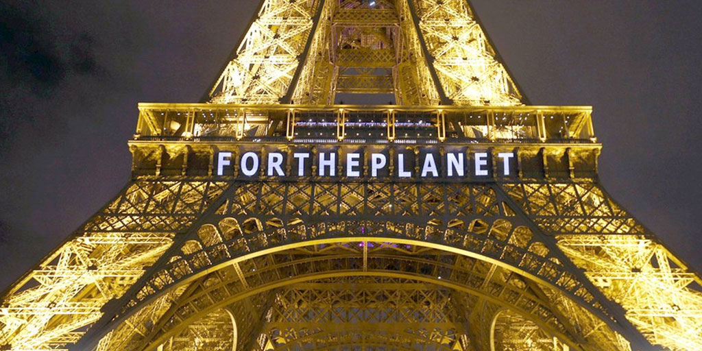 Photo of Eiffel Tower linking to President Cruz story about commitment to the Paris Agreement