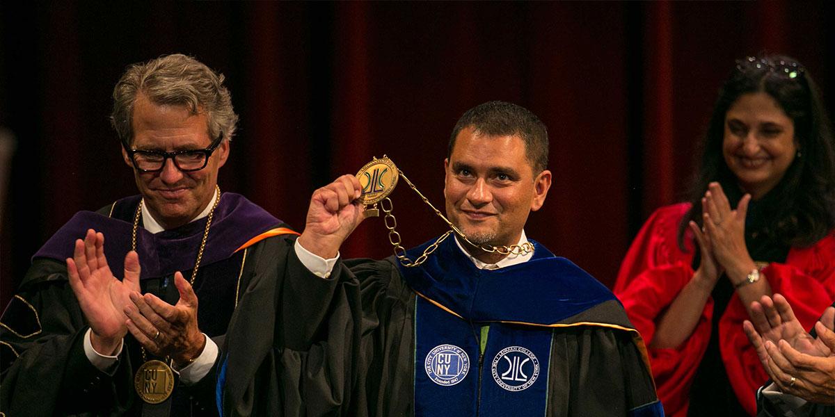 President Jose Luis Cruz Inauguration