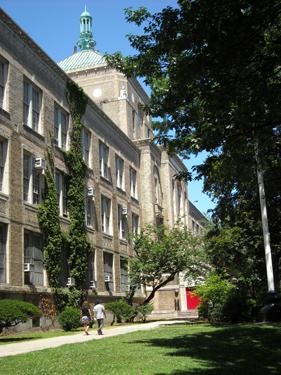 Lehman College Art Gallery Architecture Dewitt Clinton
